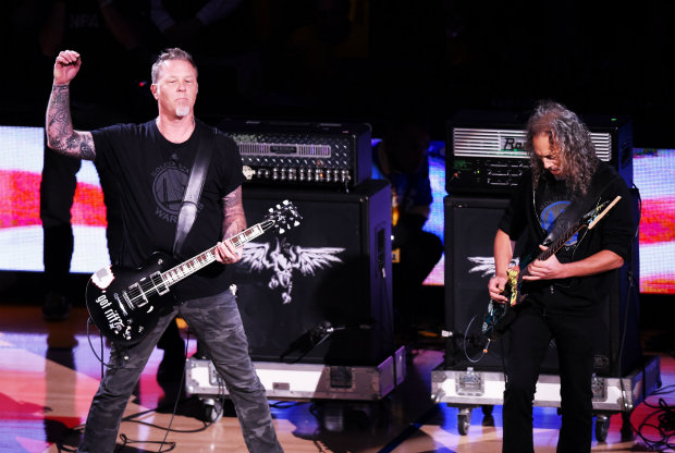 Metallica / Getty Images