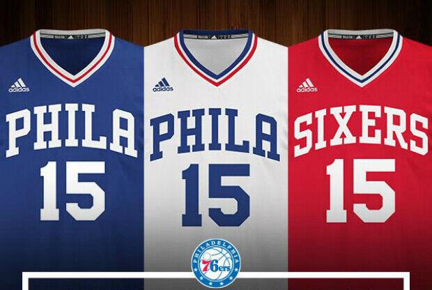 Uniforme Philadelphia 76ers