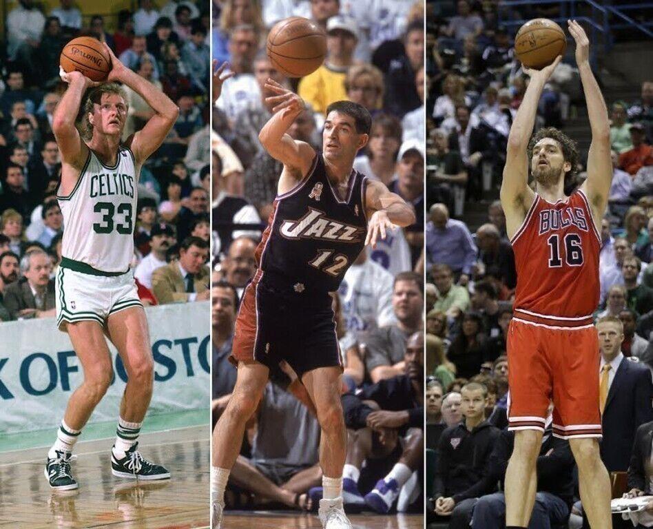 Los mejores blancos de la NBA / Getty Images