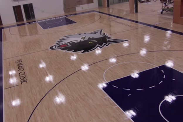 Campo de entrenamiento Minnesota Timberwolves