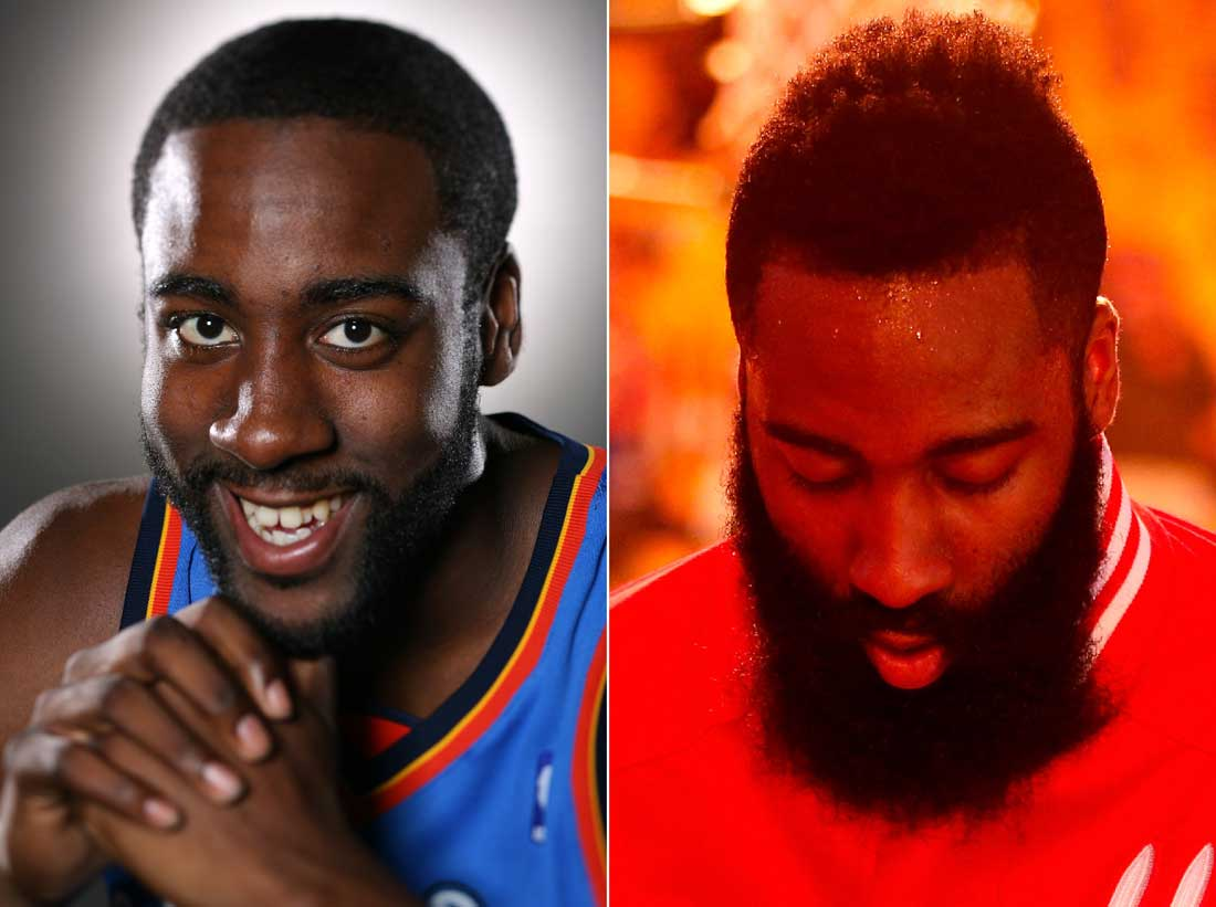 James-Harden-2009-2015 / Getty Images