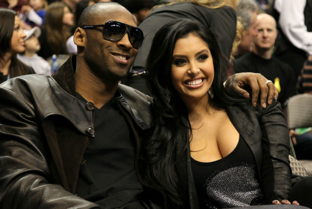 Kobe Bryant y Vanessa Bryant / Getty Images
