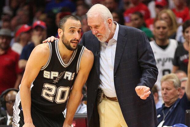 San Antonio Spurs presiona a Manu Ginobili