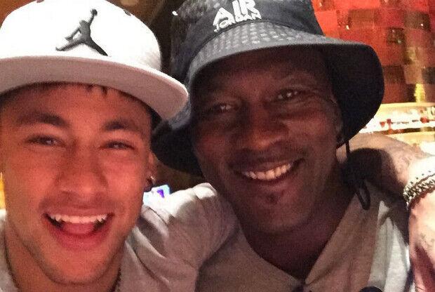 Michael Jordan hace realidad el sueño del futbolista Neymar 0442ba5ebdf