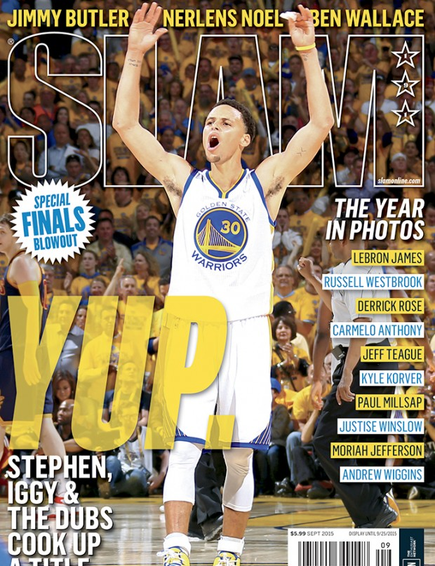 Stephen Curry / Slam Magazine