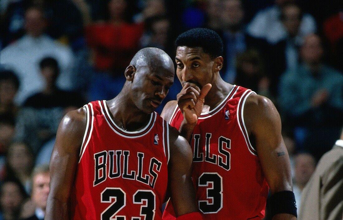 Michael Jordan and Scottie Pippen Game Portrait