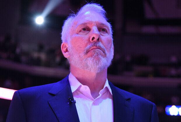 Gregg Popovich, entrenador de San Antonio Spurs