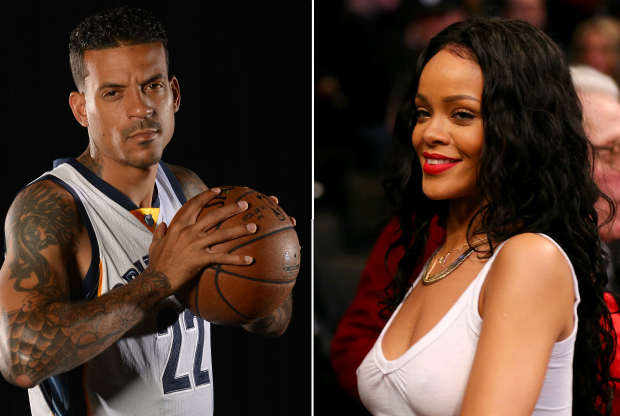 Matt Barnes y Rihanna / Getty Images