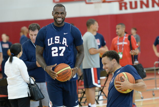 USA Basketball mini-camp / Getty Images