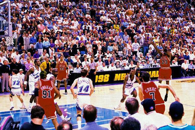 La 'última canasta' de Michael Jordan se vende por 42.000 dólares