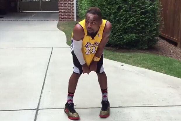Imitación de Kobe Bryant