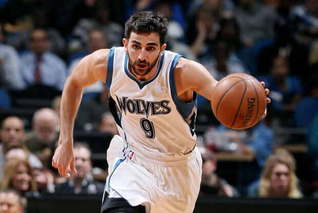 Ricky Rubio, jugador de Minnesota Timberwolves