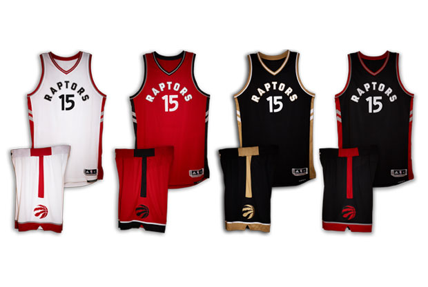 Uniforme de Toronto Raptors 2015/16