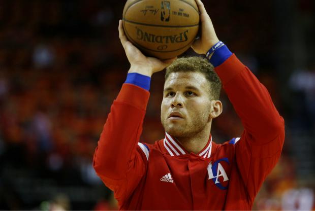 Blake Griffin con el uniforme de Los Angeles Clippers