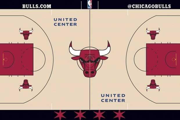 Chicago Bulls cambia el diseño de su cancha
