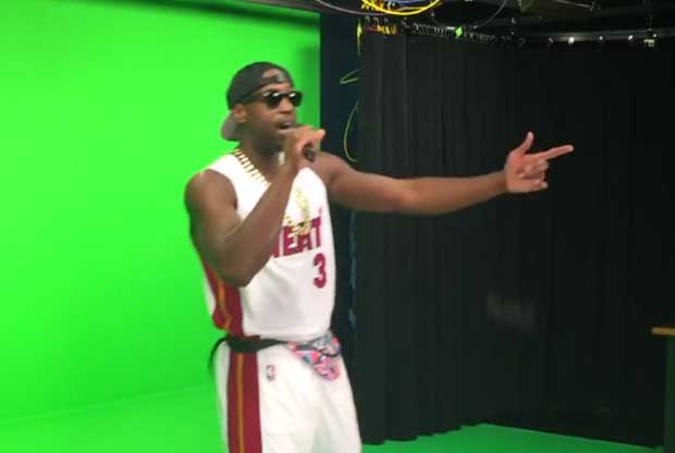 Dwyane Wade hace de rapero en el spot de Miami Heat