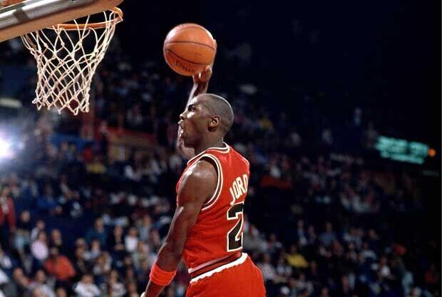Michael Jordan, jugador de Chicago Bulls