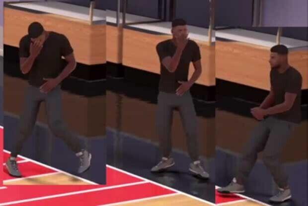 Celebraciones en el NBA2K16