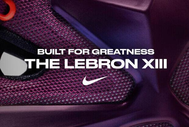 Nike LeBron 13, las zapatillas de LeBron James
