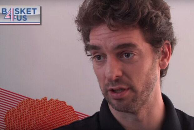Pau Gasol habla con Basket4US