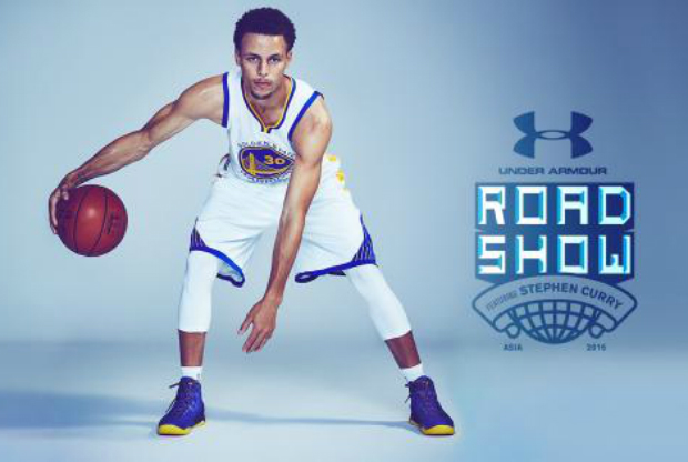 Stephen Curry Asia