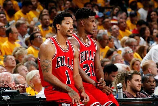 Siguen las tiranteces entre Jimmy Butler y Derrick Rose