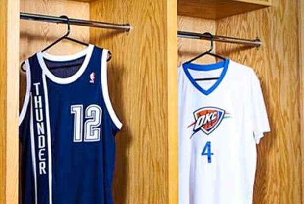 Nuevas equipaciones de Oklahoma City Thunder