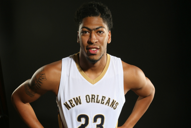 Anthony Davis en el media day de New Orleans Pelicans