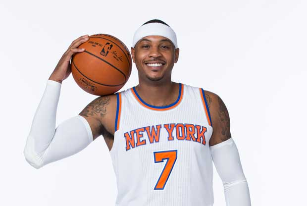 Carmelo Anthony declara su amor por New York Knicks