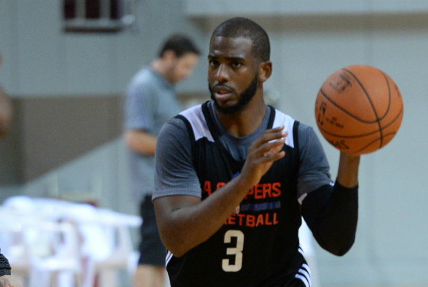 Chris Paul entrenando