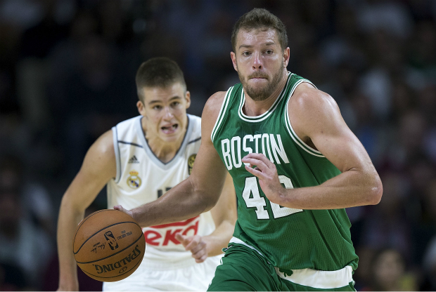 David Lee contra el Real Madrid