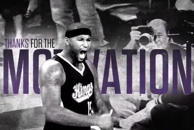 DeMarcus Cousins es una de las caras del último comercial de Sacramento Kings