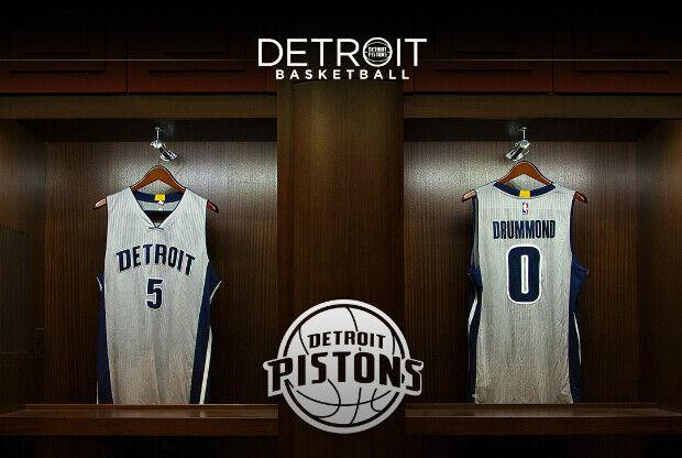 Nuevo uniforme Detroit Pistons