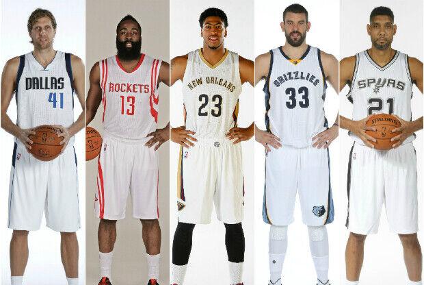Estrellas de la División Suroeste de la NBA