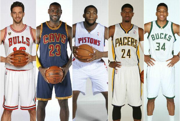 Estrellas de la División Central de la NBA