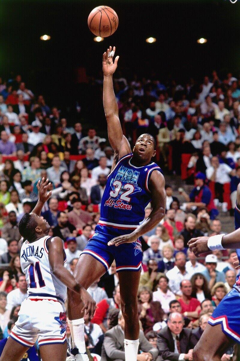 Magic Johnson en el All-Star de 1992
