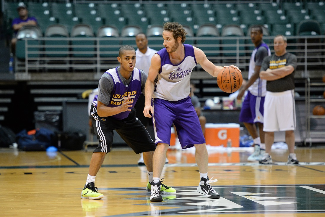 Los Angeles Lakers Training Camp in Hawaii