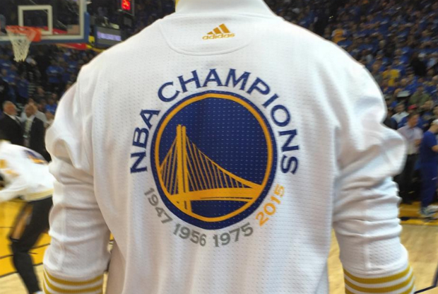 Golden State Warriors, actual campeón de la NBA