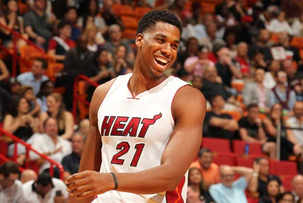 Hassan Whiteside, jugador de Miami Heat