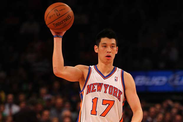 Jeremy Lin, en su etapa en New York Knicks