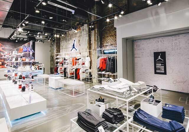 Tienda de Jordan Brand en Chicago
