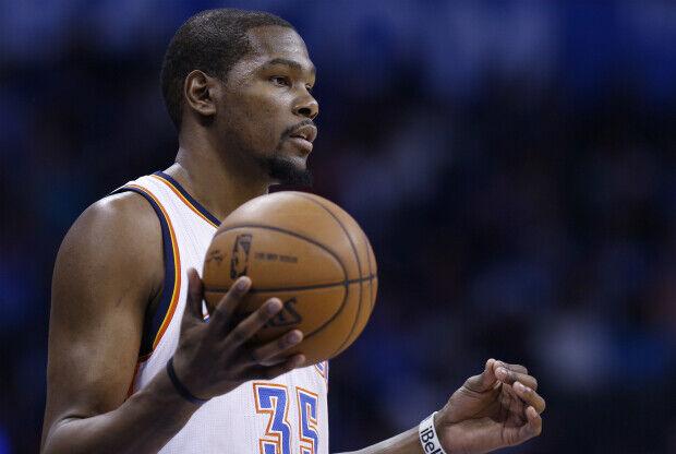 Kevin Durant con Oklahoma City Thunder