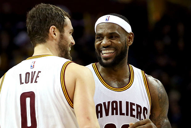 Kevin Love y LeBron James son claves en Cleveland Cavaliers