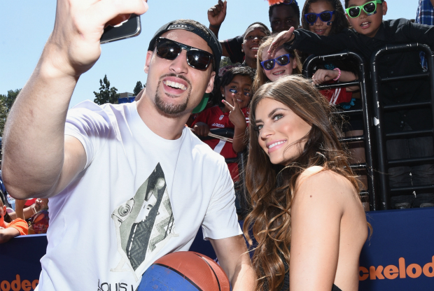 Klay Thompson y su novia