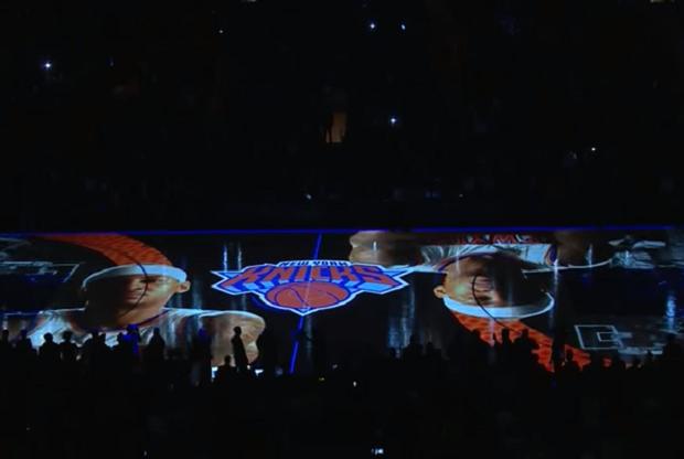 Presentación de New York Knicks