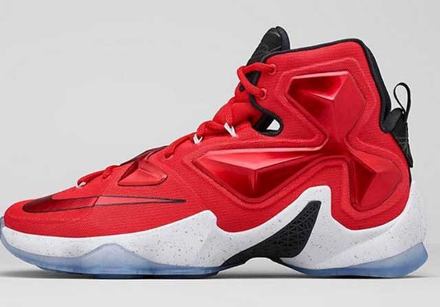 Nike LeBron 13, las últimas zapatillas de LeBron James