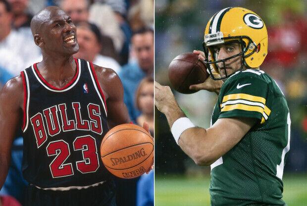 Michael Jordan vs. Aaron Rodgers
