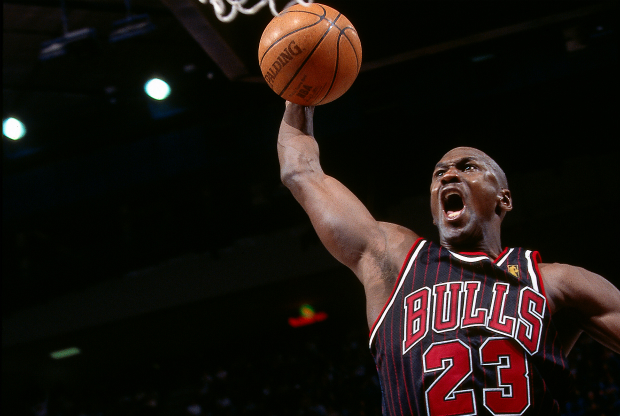 Michael Jordan machaca