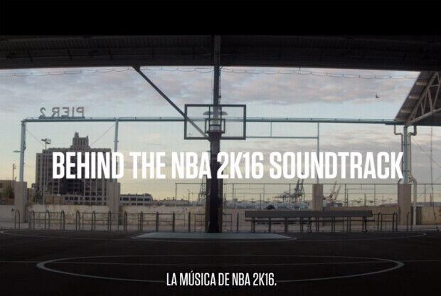 NBA 2K16 tiene una banda sonora espectacular