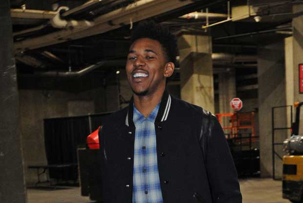 Nick young, jugador de Los Angeles Lakers